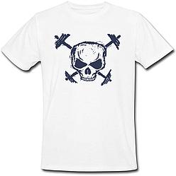 Чоловіча футболка Череп (біла)