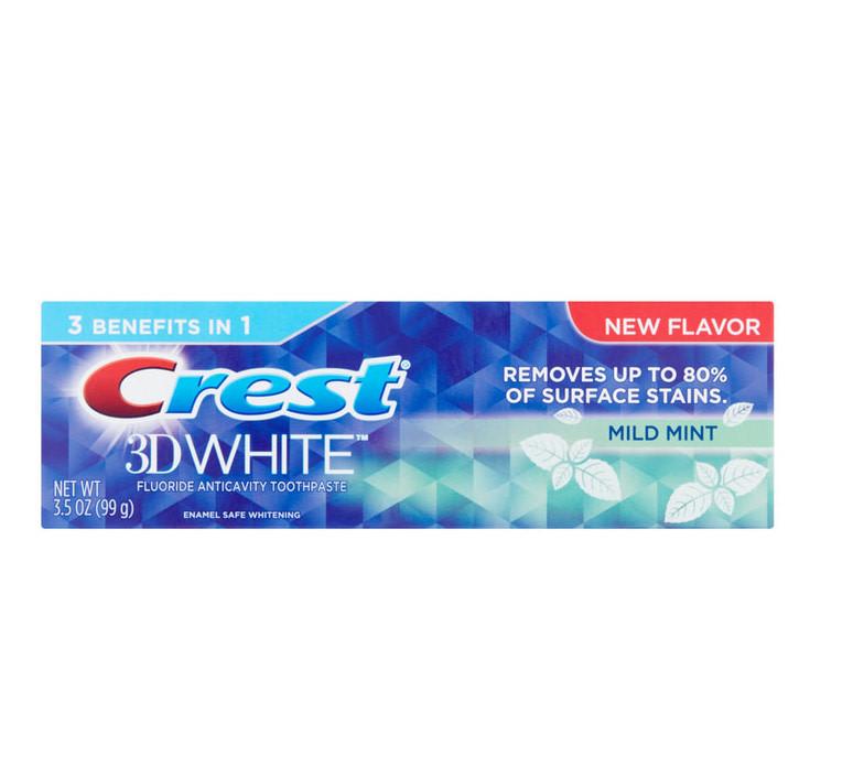 Зубна паста Crest 3D White Mild Mint