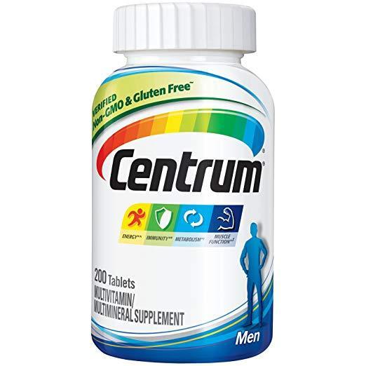 Мультивитаминный комплекс для мужчин Centrum Men, 200 таблеток