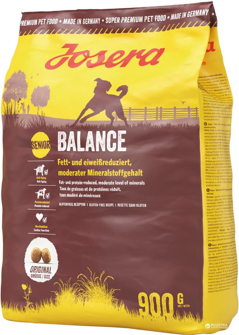 Josera Dog Senior Balance Сухой корм для взрослых пожилых собак, 900 гр