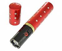 Фонарик электрошокер помада Police BL-1202 red, Ліхтарик електрошокер помада Police BL-1202 red, Прикольные подарки