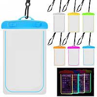 Водонепроницаемый светодиодный чехол для телефона, Водонепроникний світлодіодний чохол для телефону, Водонепроницаемые чехлы, водонепроникні чохли