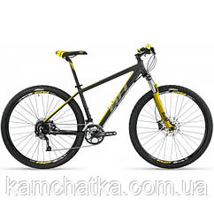 Велосипед BH SPIKE 29 ALIVIO 27V XCM REMOTE A2597 2017 S, Black/Yellow/Grey
