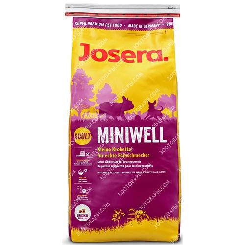 Josera Dog Miniwell корм для собак мелких пород, 15 кг