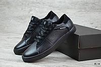 Мужские кожаные кеды Tommy Hilfiger  (Реплика) (Код: К-4  ) ►Размеры [42], фото 1
