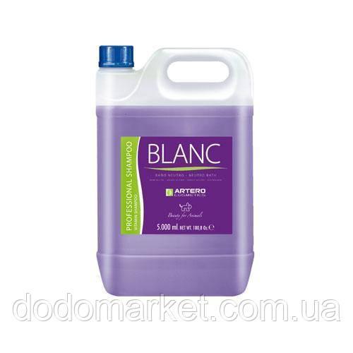 Artero Blanc шампунь для белой шерсти косметика для собак 5 л