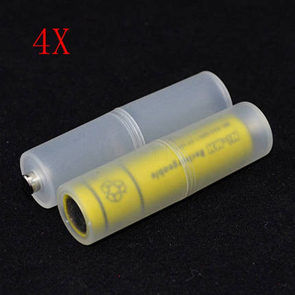 4PCS AAA To AA Battery Adapter Converter Case Holder - 1TopShop, фото 2
