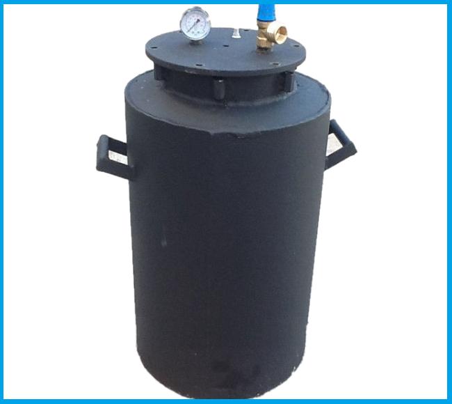 Автоклав Черный средний болты газовый (0,5л-20 шт, 1л.-12 шт.)