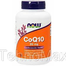 Кофермент коэнзим CoQ10 60 mg (180 veg caps)