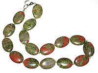 Ожерелье украшение из яшмы