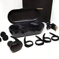 Беспроводные влагозащитные сенсорные Bluetooth наушники T2C