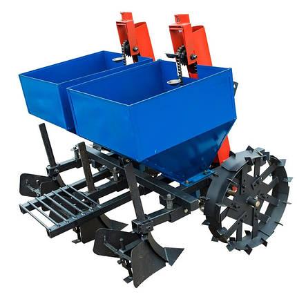 Картофелесажалка двухрядная КС-2М, 280л (под трактор 18-35 л.с.), фото 2