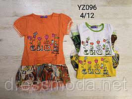 Туніки для дівчаток KE QI YI 4-12 років