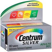 Мультивитамины Centrum Silver Adult (80 таблеток)  50+, фото 1