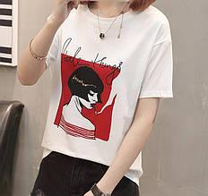 Женская футболка  AL-8236-15