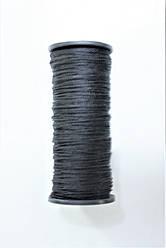 Нить текс 375  «маленькие» цвет черный.