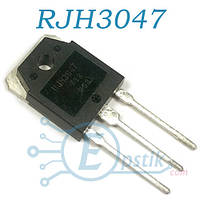 RJH3047, IGBT транзистор N Channel, 330V 50A, TO3P