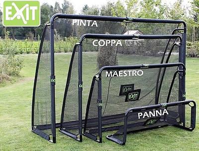 Футбольные ворота и ребондеры