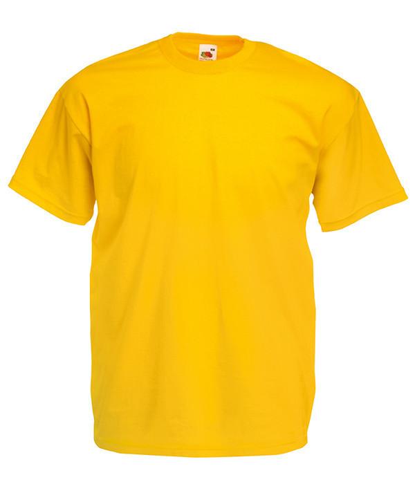 Чоловіча футболка ValueWeight S, 34 Сонячно Жовтий