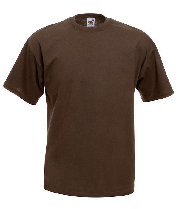 Мужская футболка ValueWeight S, CQ Шоколадный