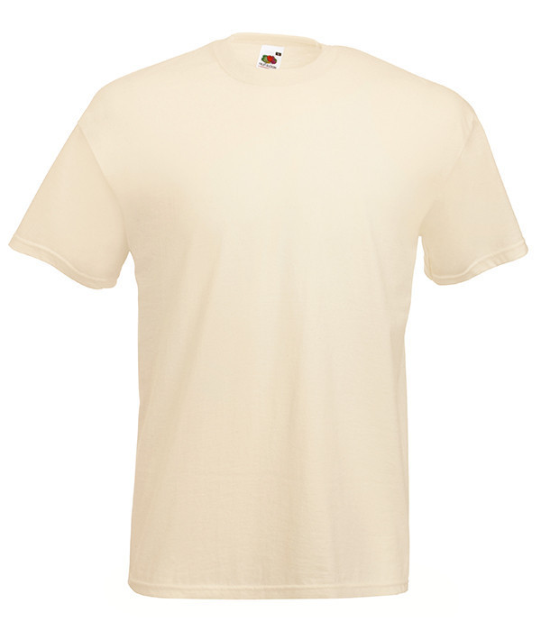 Мужская футболка ValueWeight M, 60 Телесный