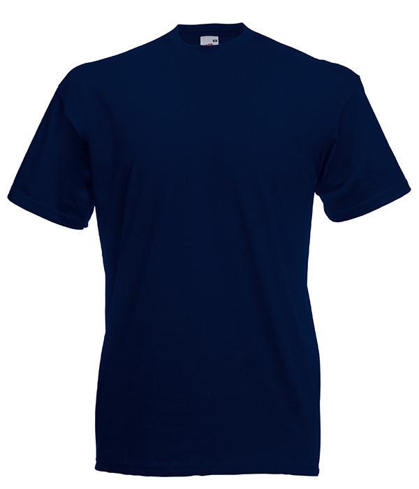 Чоловіча футболка ValueWeight 50, Глибокий Темно-Синій