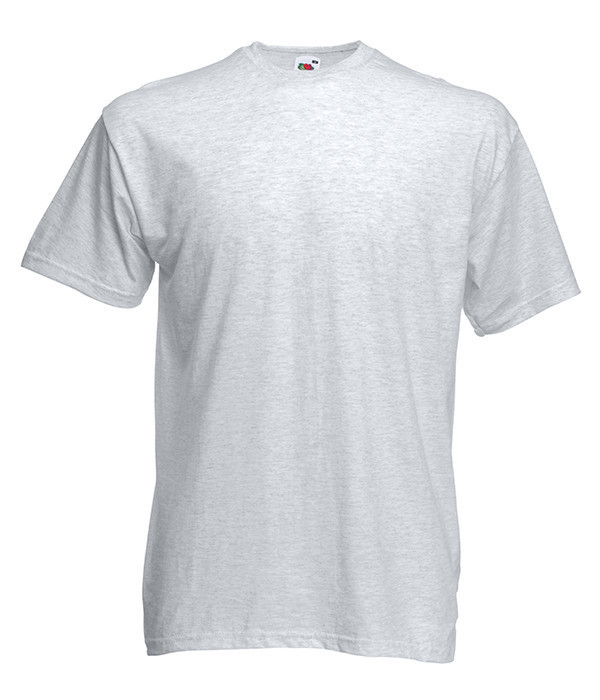 Мужская футболка ValueWeight L, 93 Пепельный