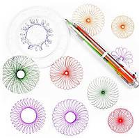 Набор для творчества SUNROZ Spiral Free Style детский спирограф SUN2254, КОД: 303935