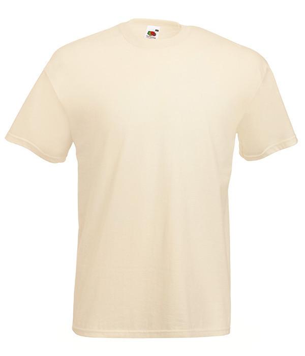 Мужская футболка ValueWeight XL, 60 Телесный