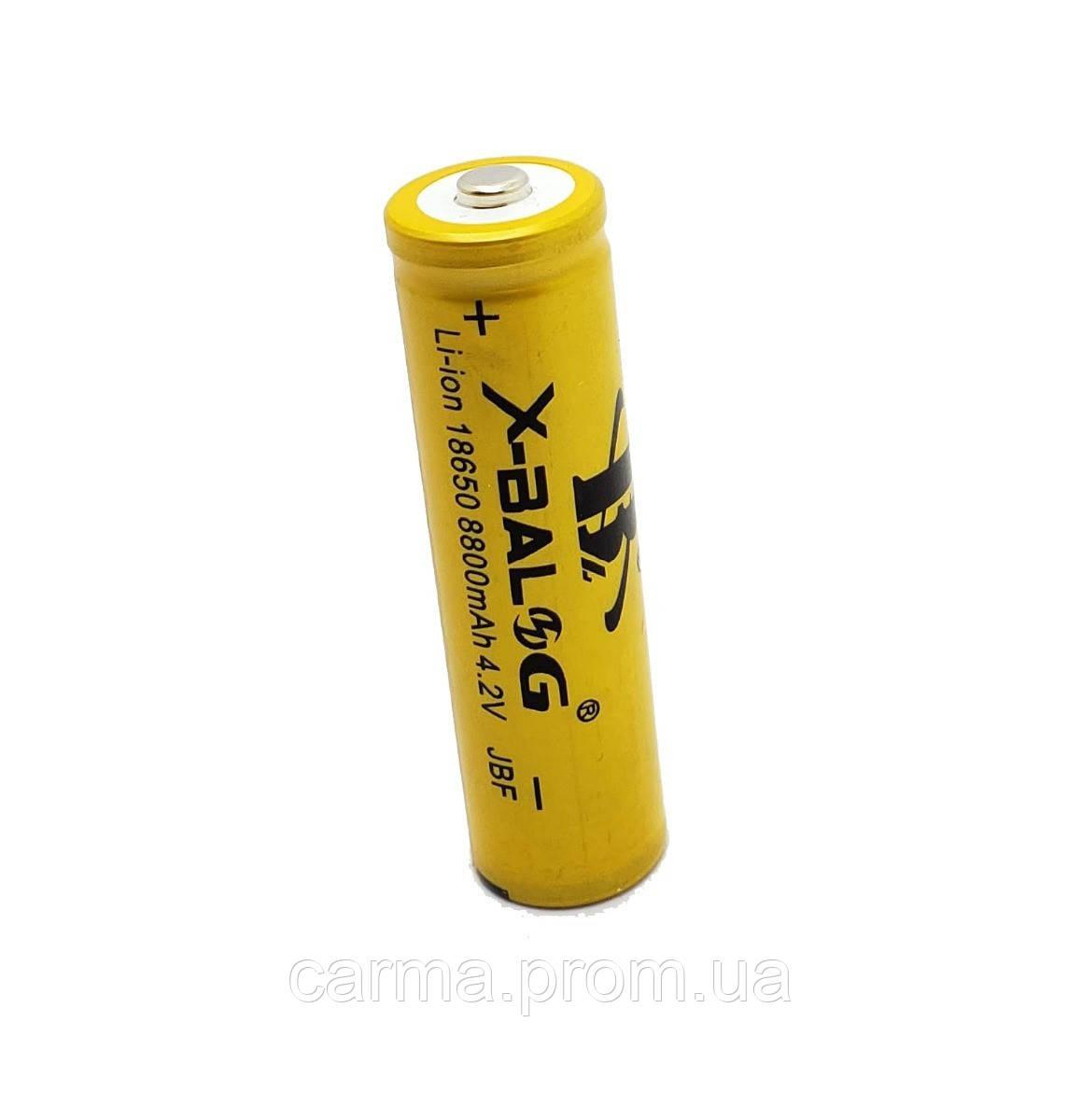 Аккумулятор X-Balog Li-Ion 18650 8800 mAh 4.2V