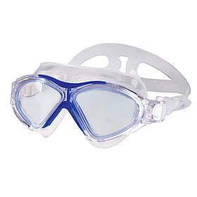 Очки для плавания Spokey Vista Jr для детей Бело-голубые s0154, КОД: 213018