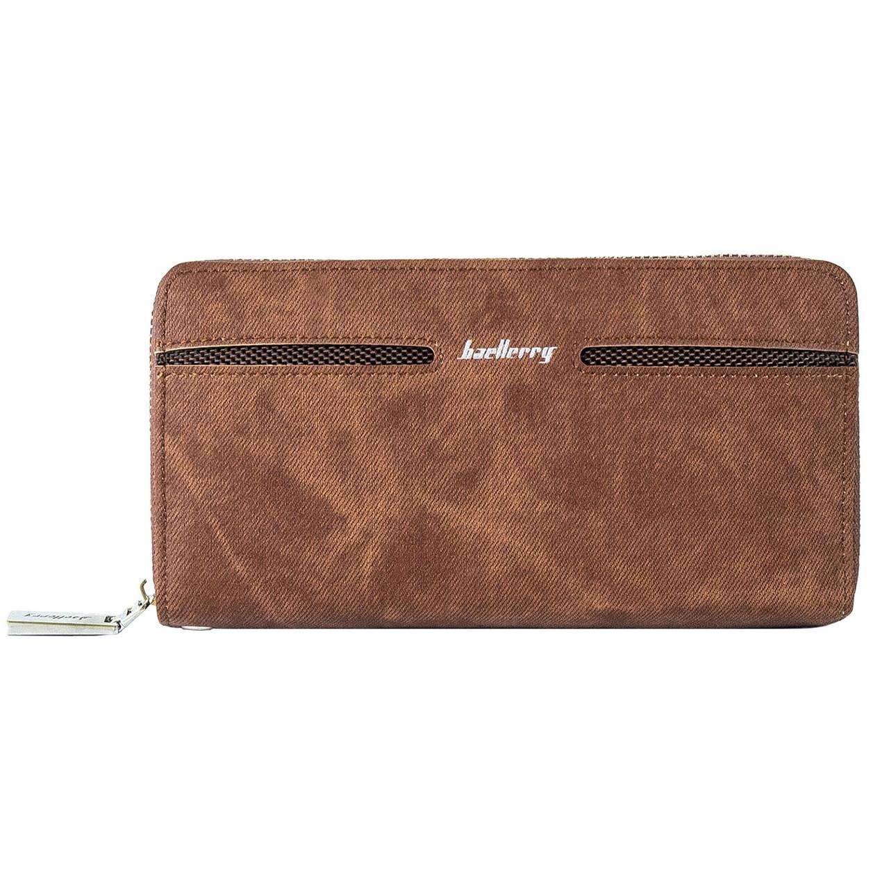 Портмоне, кошелек мужской Baellerry Denim S1512 коричневый