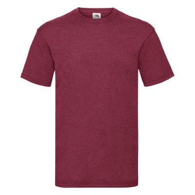 Мужская футболка ValueWeight L, VH Красный Меланж