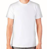 Мужская футболка хлопок EZGI Турция белая размер L-66 (48-50)
