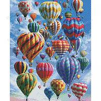"""Большая картина алмазная мозаика """"Воздушные шары"""""""