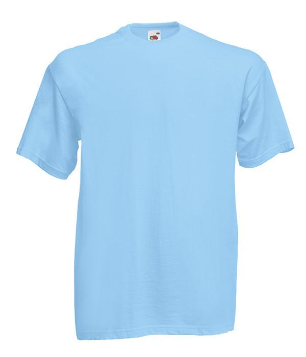 Мужская футболка ValueWeight 5XL, YT Небесно-Голубой