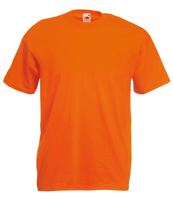 Мужская футболка ValueWeight 3XL, 44 Оранжевый