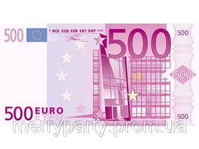 Сувенирные деньги 500 евро (80 шт./упак.)