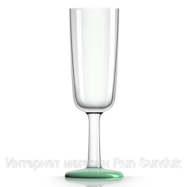Дизайнерский бокал Marc Newson для шампанского Palm Products, 180 мл, тритан Оранжевый