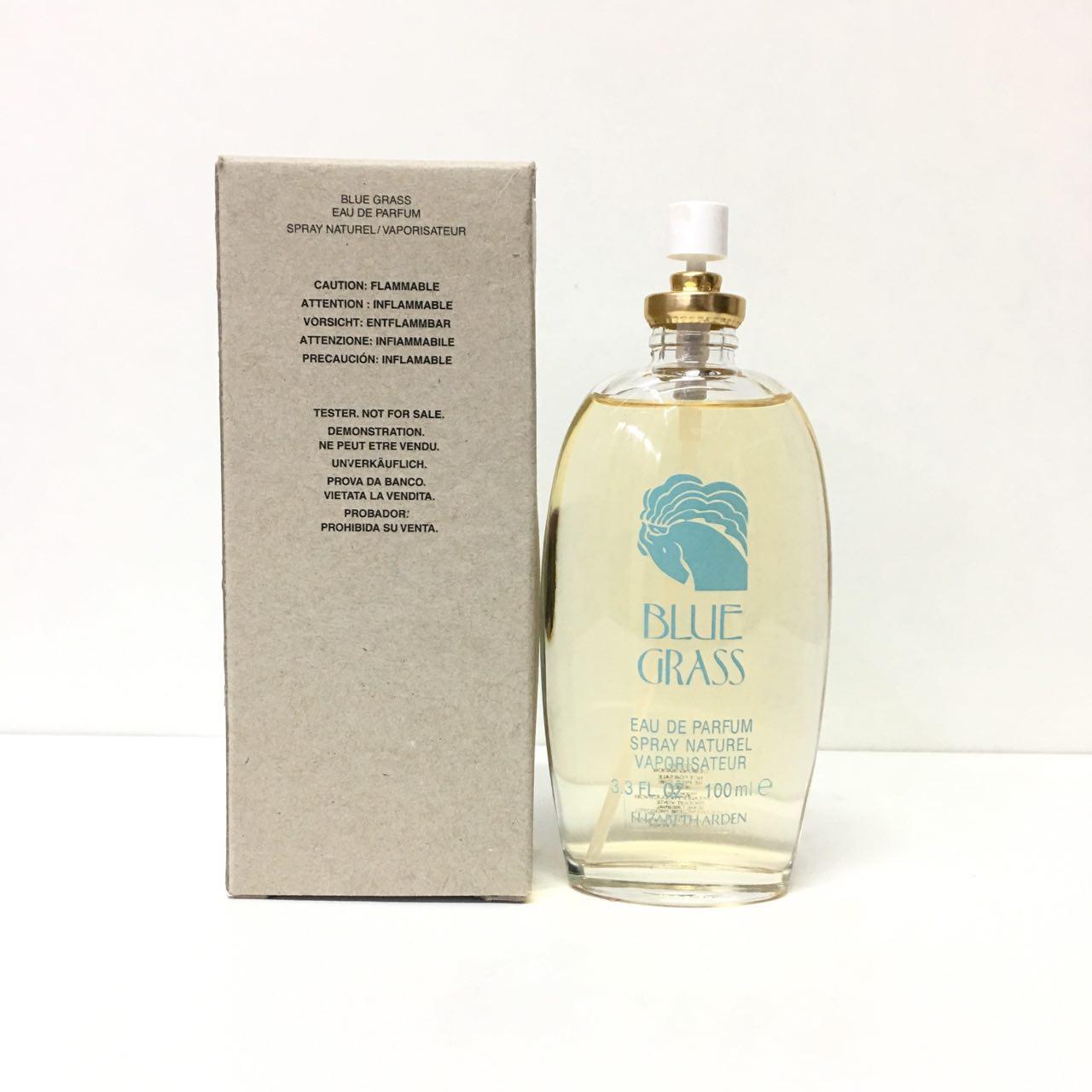 Женские духи ELIZABETH ARDEN Blue Grass 100ml парфюмированная вода ТЕСТЕР свежий цветочно-зеленый аромат