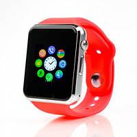 Умные смарт часы Smart watch A1 Красный
