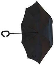 Зонт наоборот чёрный AL170006