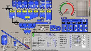 Асфальто Бетонный Завод управление технологическим процессом