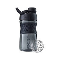 Blender Bottle, Спортивная бутылка-шейкер с венчиком SportMixer Twist 20oz/590ml Black