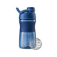 Blender Bottle, Спортивная бутылка-шейкер с венчиком SportMixer Twist 20oz/590ml Navy