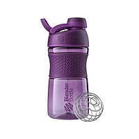 Blender Bottle, Спортивная бутылка-шейкер с венчиком SportMixer Twist 20oz/590ml Plum
