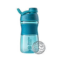 Blender Bottle, Спортивная бутылка-шейкер с венчиком SportMixer Twist 20oz/590ml Teal