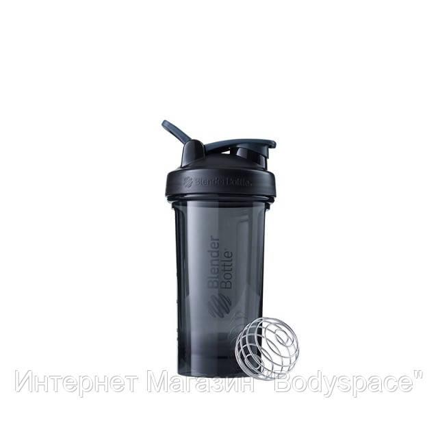 Blender Bottle, Спортивный шейкер-бутылка Pro24 Tritan 24oz/710ml Black