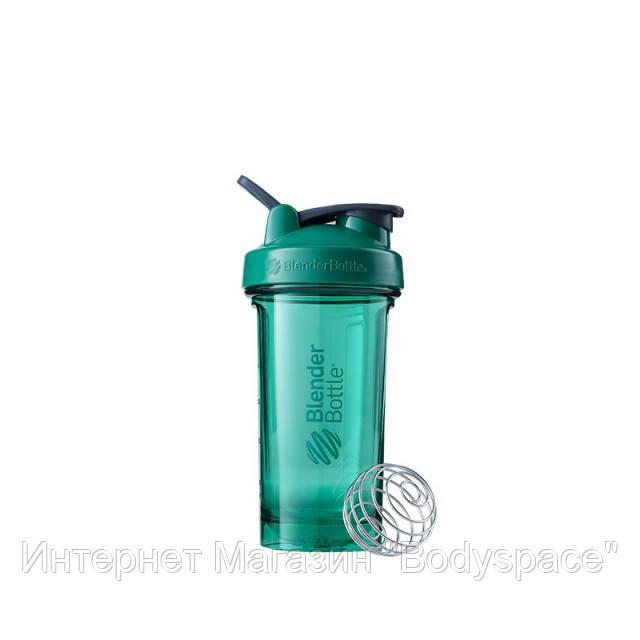 Blender Bottle, Спортивный шейкер-бутылка Pro24 Tritan 24oz/710ml Green