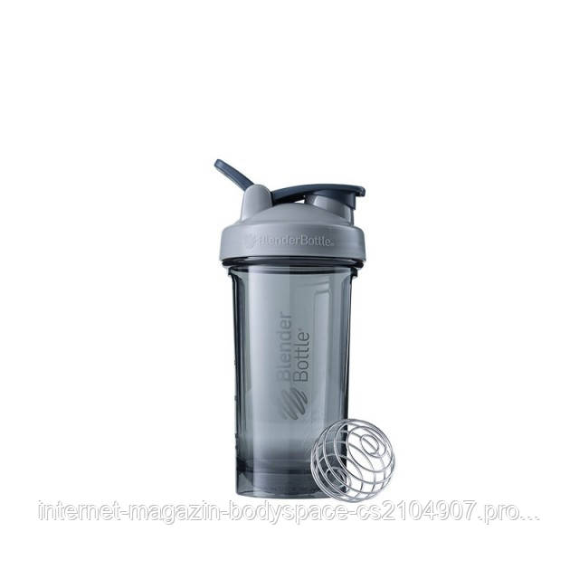 Blender Bottle, Спортивный шейкер-бутылка Pro24 Tritan 24oz/710ml Gray